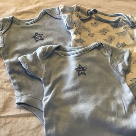0-3 Month Cuddles and Hugs Sleepsuits